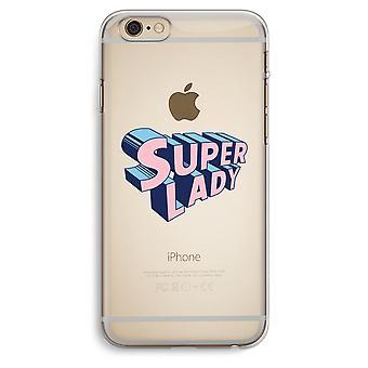 iPhone 6 Plus / 6S Plus trasparente Case (Soft) - Signora Super