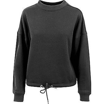 Build Your Brand Womens/Ladies Oversize Crew Neck Sweatshirt