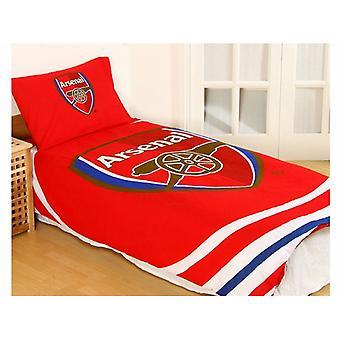 Arsenal FC pulssi palautuva pussilakana ja tyynyliina