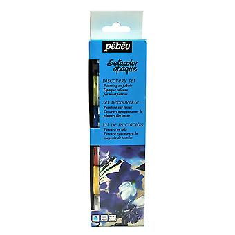Pebeo Setacolor Fabric Paint Opaque Discovery Set 6 x 20ml