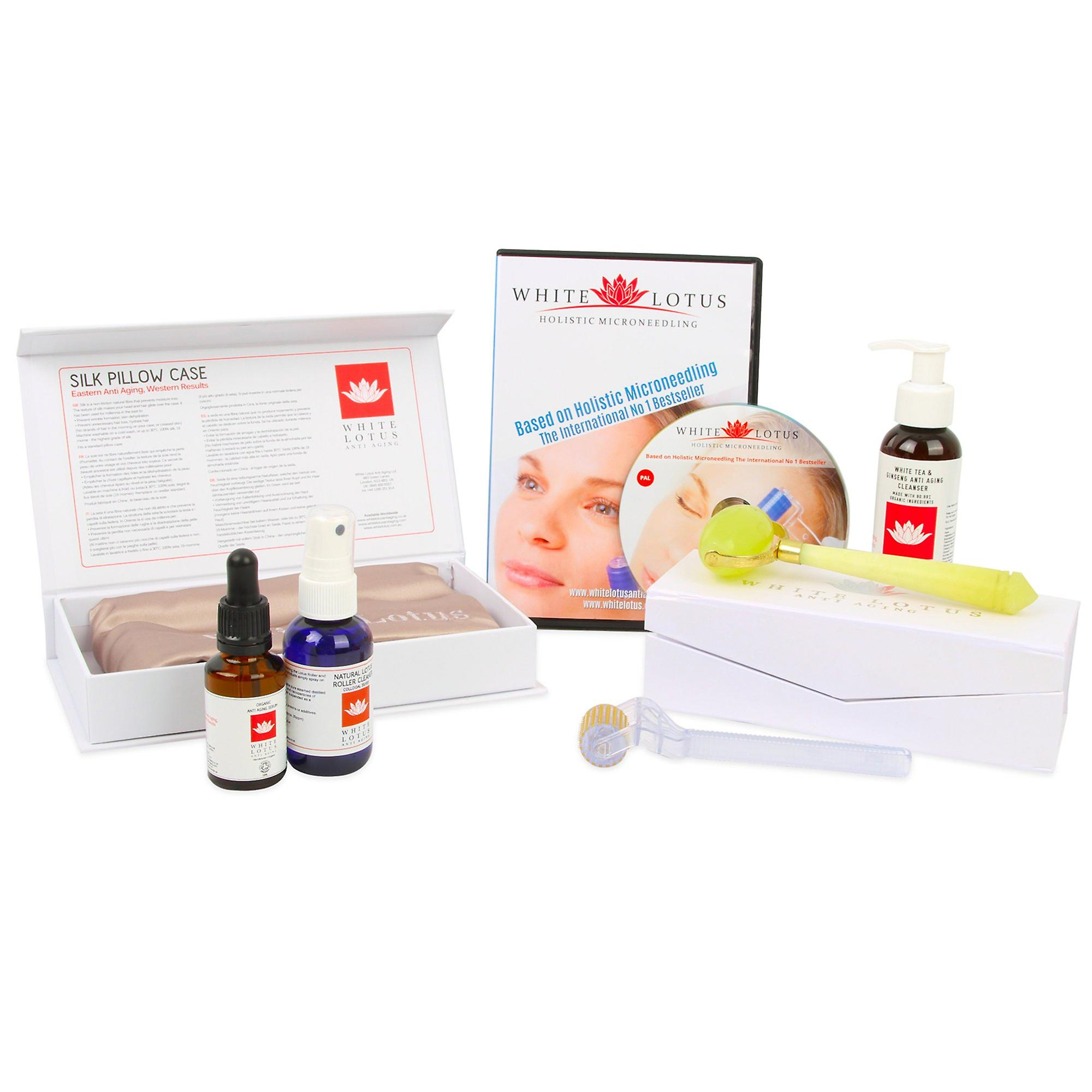 Deluxe hypoallergenic dermaroller kit - for wrinkles & anti aging