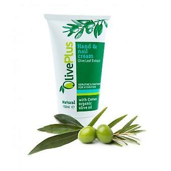 Hånd og spiker krem med oliven blad ekstrakt 150ml.