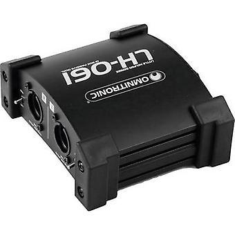 Omnitronic LH-061 PRO Passive DI box 2-channel