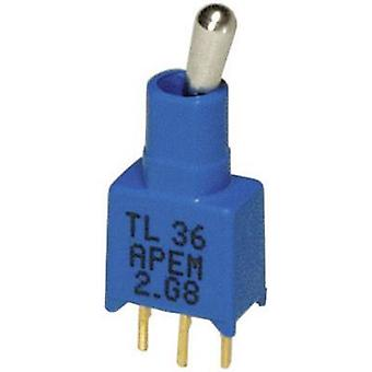 APEM TL36P005000 / TL36P005000 Växla Växla 20 V DC/AC 0,02 A 1 x på/i spärren 1 dator