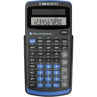 Texas Instruments TI-30 ECO RS CAS lommeregner sort skærm (cifre): 10 Solar-Powered (b x H x D) 71 x 13 x 147 mm