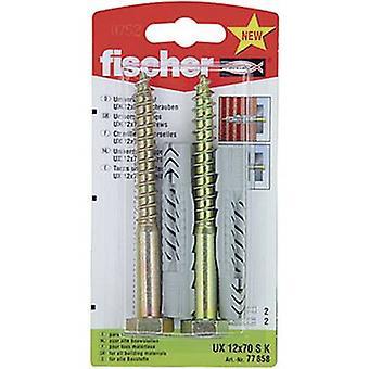 Set de Fischer UX 12 x 70 espiga S K Universal 70 mm 12 mm 1 77858