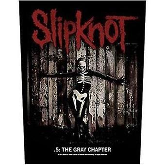 Slipknot серый главе большой шить на спине патч
