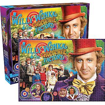 Willy Wonka (Gene Wilder) 1000 Stück Jigsaw Puzzle-690 X 510 Mm