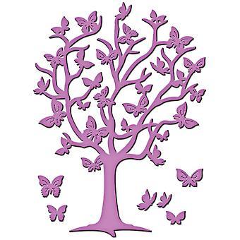 Spellbinders Die D-Lites Flutter Tree