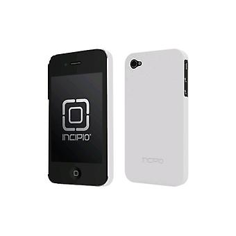 5 Pack -Incipio Feather Ultralight Hard Shell Case para Apple iPhone 4/4S - Blanco (Tonic)
