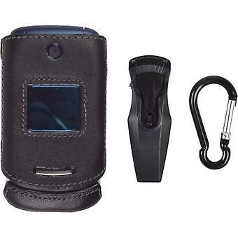 Draadloze oplossingen Clip-On geval voor Motorola EM330 (zwart)