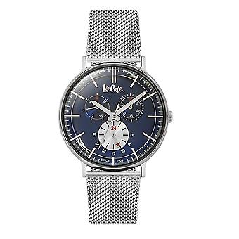 Lee Cooper Men's Watch Silver Milanese Maille Bracelet 7918