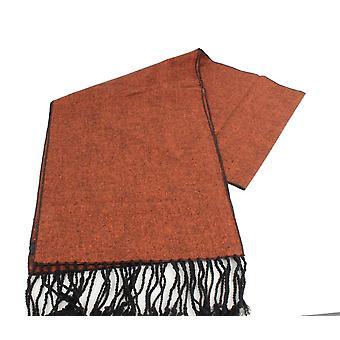Knightsbridge Neckwear Tweed Scarf - Orange brûlé