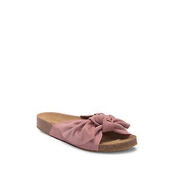 Jeffrey Campbell Womens Sunmist Suede Open Toe Casual Slide Sandals