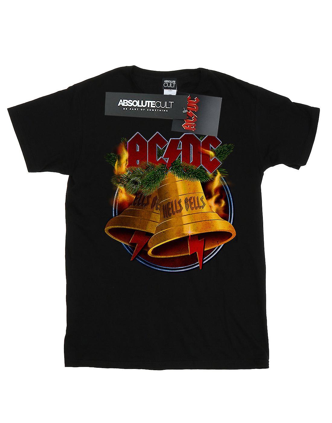 AC/DC Girls Christmas Hells Bells T-Shirt