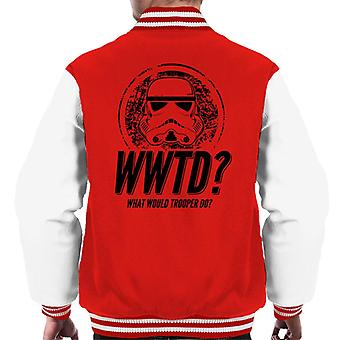 Original Stormtrooper What Would Trooper Do Men's Varsity Jacket