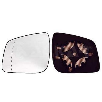 Vidrio espejo de pasajeros izquierdo (calentado) y soporte para Mercedes A-CLASS 2008-2012
