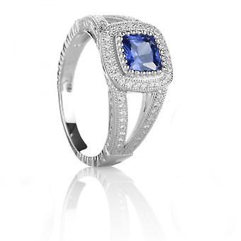 Cavendish franske safir blå skønhed Ring