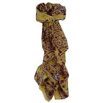 Mulberry Silk traditional lung eșarfă Nam Gold de pashmina & Silk