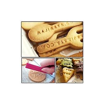 68 Pcs Alphabet Number Letter Biscuit Fondant Cake/Cookie Stamp Impress Embosser Cutter - Mold Set