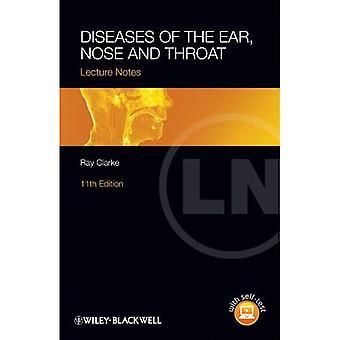 Notas do Lecture - doenças do ouvido, nariz e garganta
