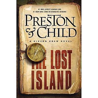 A ilha perdida: Um romance de Gideon Crew