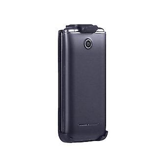 LG VN370/エグザルトII用ベライゾンスイベルベルトクリップホルスター - ブラック