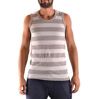 Yohji Yamamoto Ezbc106030 Men's Grey Cotton Top