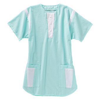 BEB Light Kasack, dámske vrecko, sklzu taška, ošetrovateľská taška, ordinácie, vráskam-Free, Half-ARM, seersucker zmiešané tkaniny, nemeckej tkaniny, vyrobené v EÚ