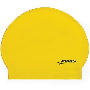 FINIS Latex Swim Cap - Yellow