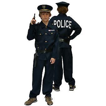 Children's costumes Boys Police (2) + cap + 2acc. 15/1