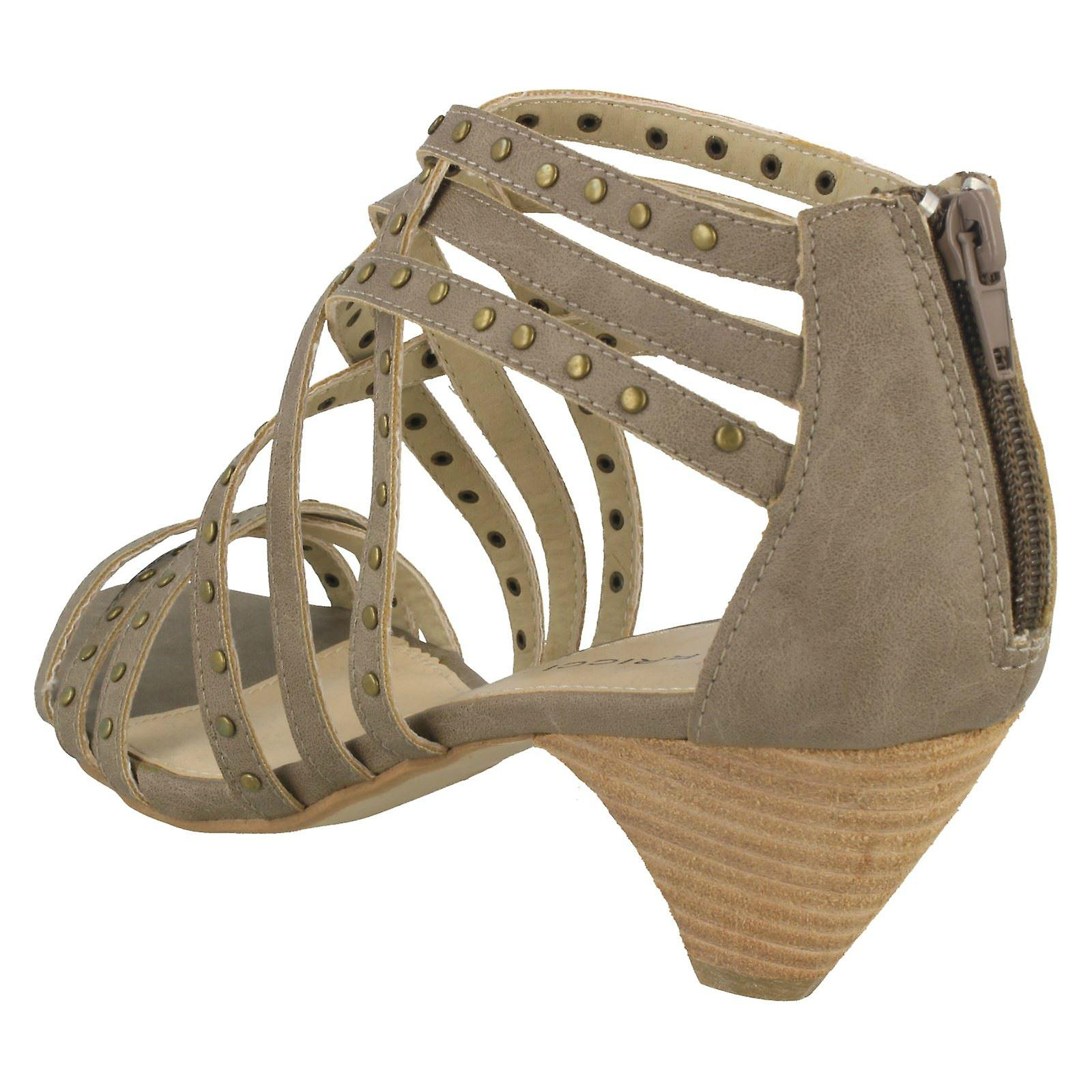 Ladies Barricci Heeled Sandals - Gratis verzending BiKv02