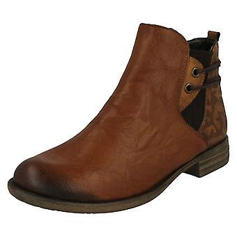 Senhoras Remonte tornozelo botas D4976