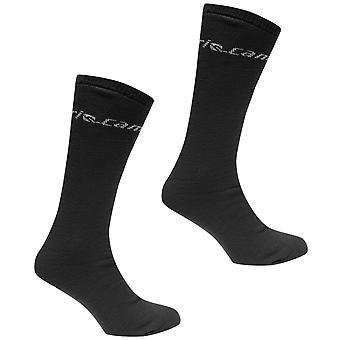 Campri Mens Ski Tube Socks 2 Pack