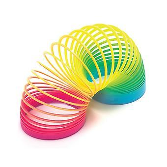 Slinky SpiralTreppe Frühling Regenbogen Magie Regenbogen Frühling