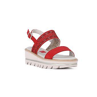 Callaghan Rojo Long Beach sandals