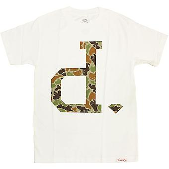 Diamond Supply Co Un Polo Rain Camo T-shirt White