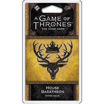 Game of Thrones LCG 2nd Edition House Baratheon Intro Deck Card Game