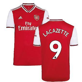 2019-2020 آرسنال أديداس قميص كرة القدم الرئيسية (LACAZETTE 9)
