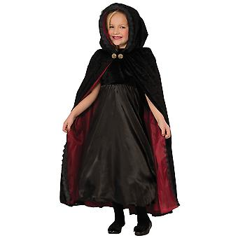 Bristol Novelty Childrens/Girls Gothic Vampiress Cape