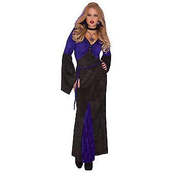 Γυναικεία ερωμένη της αποπλάνησης Απόκριες φανταχτερό φόρεμα κοστούμι
