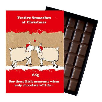 Funny Christmas Gift For Men Women Boxed Chocolate Festive Xmas Present for Him or Her XMS110