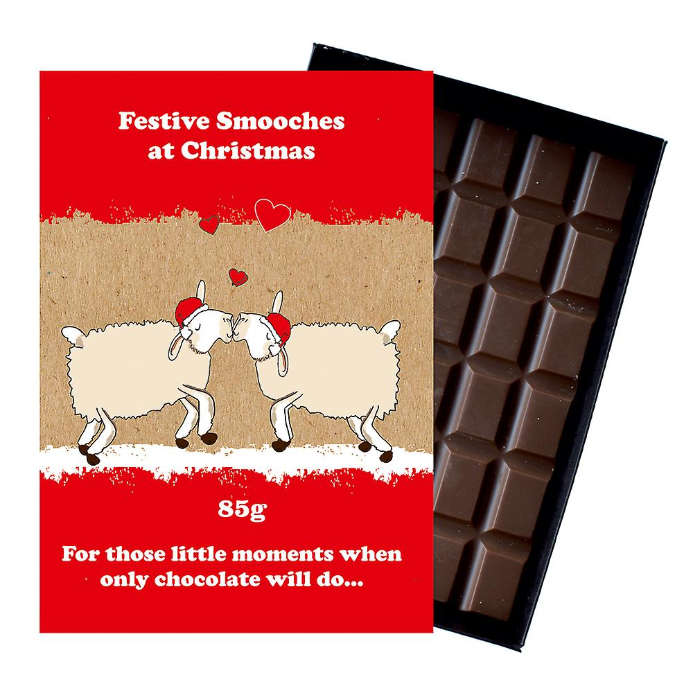 Funny Christmas Gift For Men Women Boxed Chocolate Festive ...