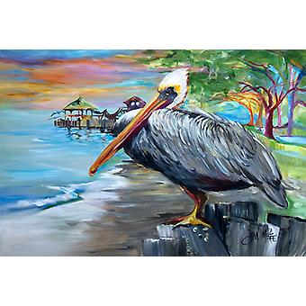 Carolines Treasures  JMK1021PLMT Pelican view Fabric Placemat