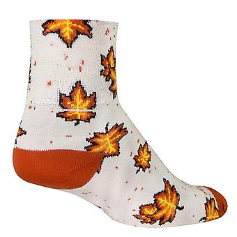 Chaussettes - Sockguy - 3-quot; Classic Autumn L/XL Cycling/Running