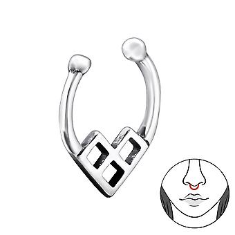 Triangle - 925 Sterling Silver Nose Studs - W28387X