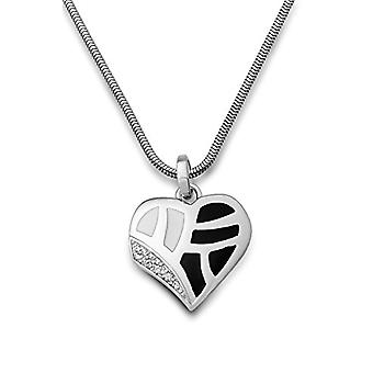 Miore Chain with Women's Pendant - Silver Sterling 925