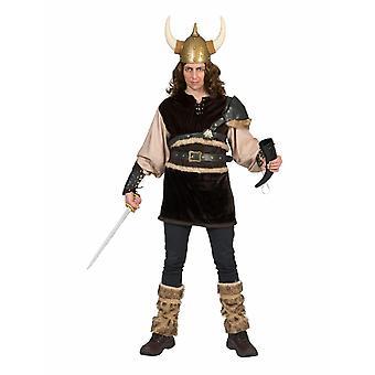Viking Nordman Costume Homme Guerrier Germane Barbarian Costume Homme