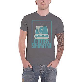 Enter Shikari T Shirt Synth Square band Logo new Official Mens Grey