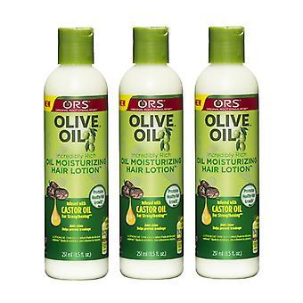 Organic Root Stimulator Olive Oil Moisturizing Hair Lotion, 8.5 oz (PACK OF 3)